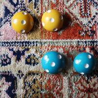 BAKELITE Dot Earrings