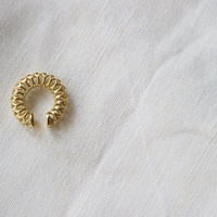 Saskia Diez/Mesh Earucuff No1 Yellow Gold