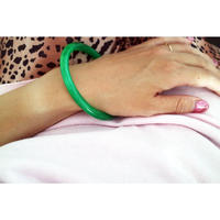 BAKELITE Bangle GREEN