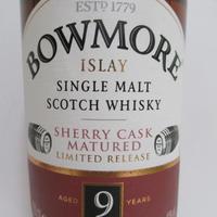 ボウモア9年 シェリーカスク Bowmore 9 Year Old Sherry Cask 40% 70cl