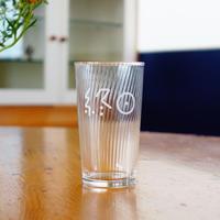 終日麦酒グラス(白銀の世界な白)L