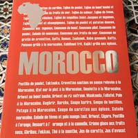 モロッコ料理レシピ本(送料込み)