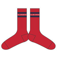 SHUKYU Sports Club / Socks (Red)