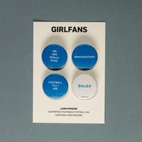 GIRLFANS -  Manchester City pins
