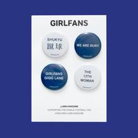 GIRLFANS -   Bury pins