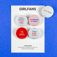 GIRLFANS -  USA Women pins