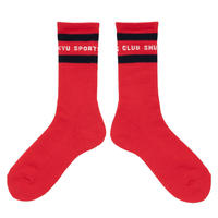 SHUKYU Sports Club / Socks (Red)