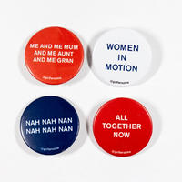 GIRLFANS -  World Cup Anthems pins