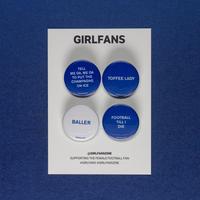 GIRLFANS -  Everton pins