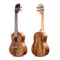 ◆美木目 劇鳴り Realsun ukulele AAAA級コアオール単板 テナーウクレレ ピックアップ搭載 スロテッドヘッド AT200◆