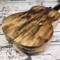 【数量限定】Jobba ukulele 虎木目AAAA級マンゴーオール単板 テナーウクレレ 厚めの共鳴感