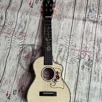 【激レア数量限定】Jobba ukulele カーリー木目AAAAA級メープルオール単板 テナーウクレレ 高クリアな音粒