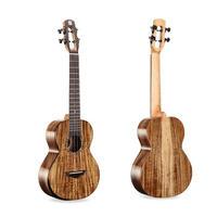 ◆Bright Sun ukulele!AAA級上質アカシアオール単板 テナーウクレレ スロテッド◆