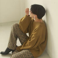 TODAYFUL (トゥデイフル) Pattern Knit Leggings 12020723