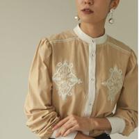 TODAYFUL (トゥデイフル) Embroidery Puff Blouse 20秋冬【12020415】シャツ・ブラウス