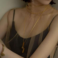 Sea'ds mara/シーズマーラ Distort necklace「21A1-02」ネックレス