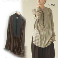 TODAYFUL (トゥデイフル) Silk Stripe Shirts /【12020414】/シャツ・ブラウス