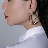 Sea'ds mara/シーズマーラ Meander symmetry pierce・earring 20A3-60