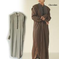 TODAYFUL (トゥデイフル)/ Silk Stripe Dress/【12020319】