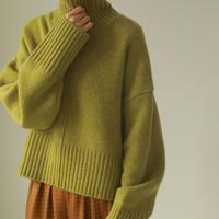 TODAYFUL (トゥデイフル) Heavy Turtle Knit 【12020529】ニットトップス