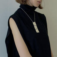Sea'ds mara/シーズマーラ  Square plate necklace /21A1-04