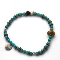 amp japan/Round Turquoise Bracelet 13ahk-154