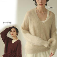 Wholegarment Vneck Knit /TODAYFUL (トゥデイフル)/  12020540