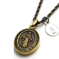 amp japan/アンプジャパン Brass Maria Locket Necklace 1AO-115