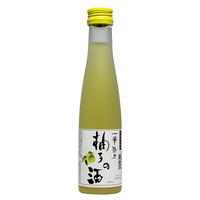 一筆啓上 柚子の酒 180ml