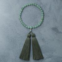 shuo14019 Juzu (Green Aventurine × Moss Green) 男性用