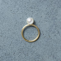 13014 / Tansui Pearl Ring (K18 / Gross)