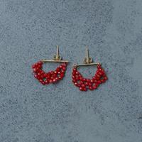 14001 / Red Coral Pierce (K18)