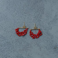 14002 / Red Coral Piercing