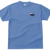 00300_ドライTシャツ(ミックスブルー)newデザイン
