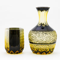燦 冠水瓶 -黒琥珀-
