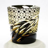 雅 ロックグラス -黒琥珀-