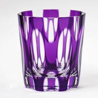 紬 ロックグラス -金紫-