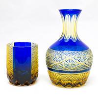 燦 冠水瓶 -瑠璃琥珀-