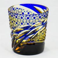 雅 ロックグラス -瑠璃琥珀-