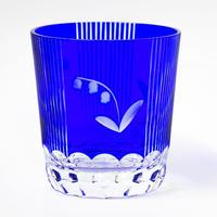 鈴蘭 ロックグラス -瑠璃-