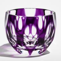 紬 ぐい呑 -金紫-