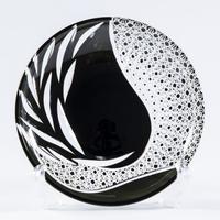 雅 銘々皿 -黒-