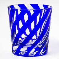 渦 ロックグラス -瑠璃-