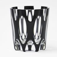 紬 ロックグラス -黒-
