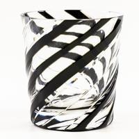 渦 ロックグラス -黒-