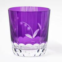鈴蘭 ロックグラス -金紫-