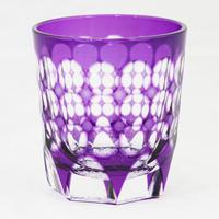 珠 ロックグラス -金紫-