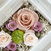 お花へのメッセージプリント