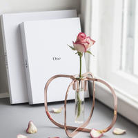 One flower vase - Copper -
