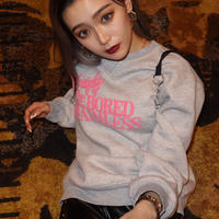 pink pencil loose sweat ※unisex item